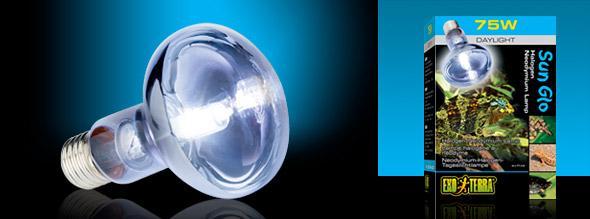 Лампа галогеновая неодимовая Sun Glo Halogen